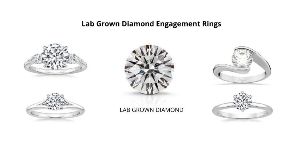 Lab Grown Diamond Engagement Rings