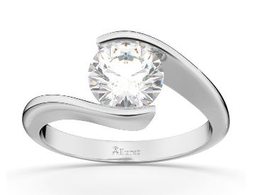 Tension Setting For Lab Grown Diamond Engagement Rings