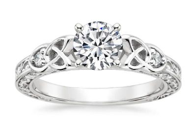Vintage Setting For Lab Grown Diamond Engagement Rings