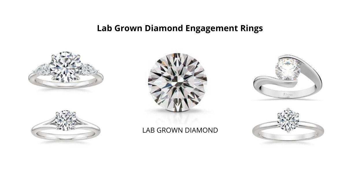 8 Best Lab Grown Diamond Engagement Rings Ideas
